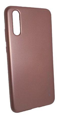Goospery silikonski ovitek i-Jelly Metal za Huawei P20, roza