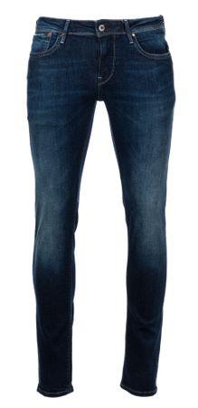 Pepe Jeans jeansy męskie Hatch 34/32, ciemny niebieski
