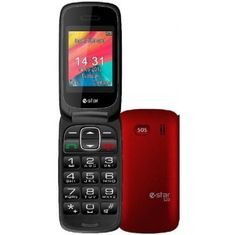 eStar estar-mobilni telefon S20, rdeč - Odprta embalaža