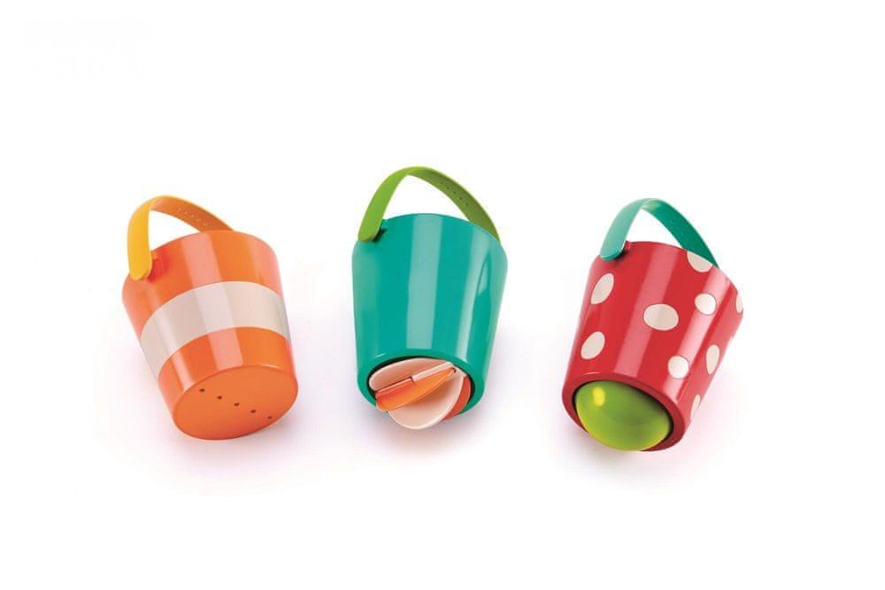 Hape Hračky do vody - Veselé kbelíky, set
