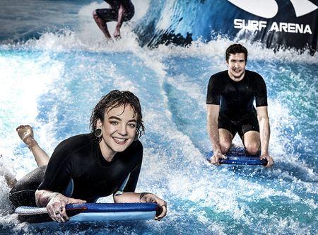 Poukaz Allegria - indoor surfing pro dva Praha