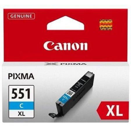 Canon kartuša CLI-551C, XL, Cyan