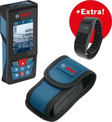 BOSCH Professional laserski merilnik GLM 120 C + pametna športna ura + zaščitna torbica (06159940LL)
