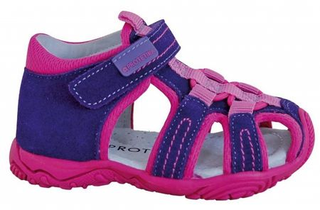 d1c5152fdc5f Protetika Dievčenské sandále Sid 23 fialovo-ružová