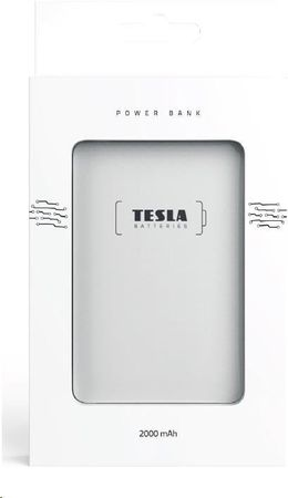 Tesla Powerbank 2000mAh TESLA PB 2.000 BLUE