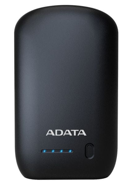 Adata PowerBank P10050 - externí baterie pro mobil/tablet 10050mAh, 2.0A, black AP10050-DUSB-5V-CBK