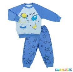 Ewa Klucze chłopięca piżama Little Moon - wszechświat