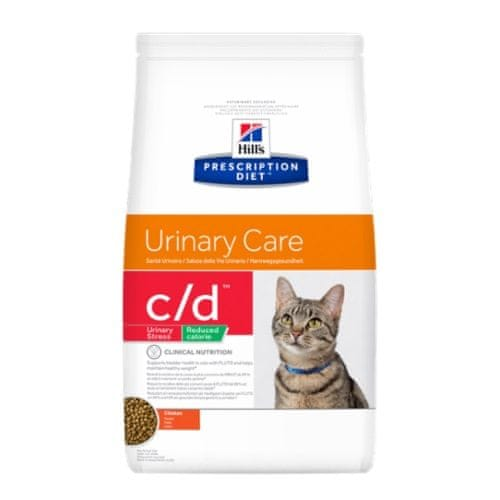 Hill's PD Feline C/D Urinary Stress Reduced Calorie 1,5 kg