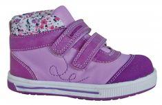 Protetika Dívčí kotníkové boty Gera - fialové