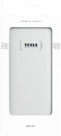 Tesla Powerbank 8000mAh TESLA PB 8.000 GOLD