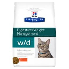 Hill's sucha karma dla kotów Prescription Diet Feline W/D 1,5 kg