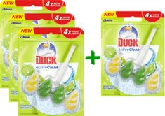 Duck Active Clean Citrus 3 + 1 ks