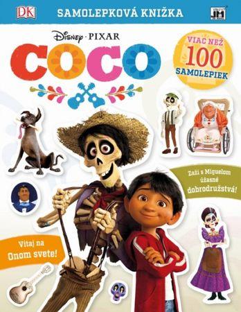 Disney/Pixar: Samolepková knižka/ Coco