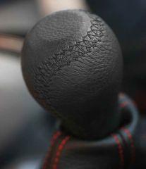 MAMMOOTH Rukojeť řadicí páky, barva černá - černé prošití, TYP OPEL