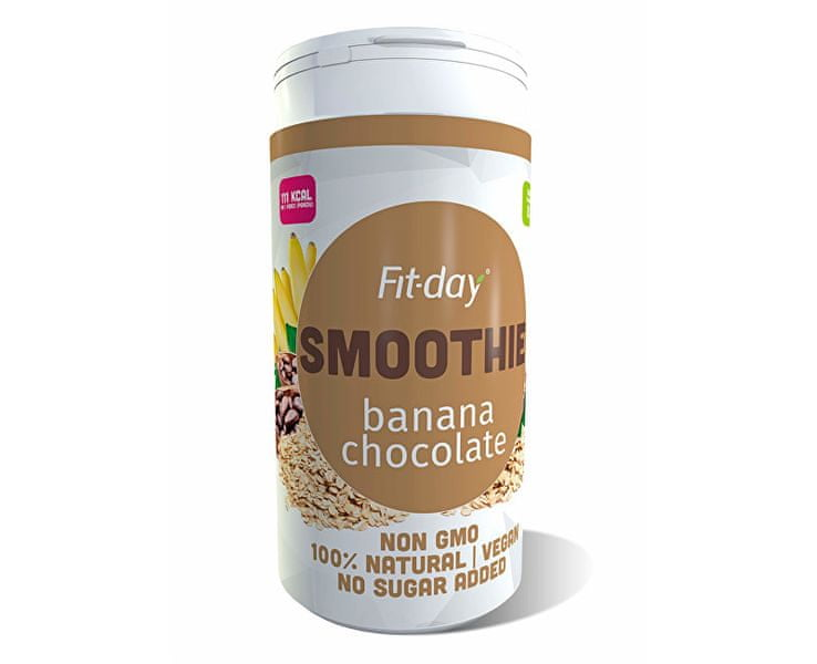 Fit-day Plant based smoothie BANANA CHOCOLATE 600 g
