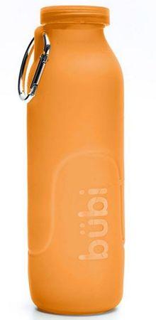 BÜBI silikonska plastenka, 1000 ml, oranžna