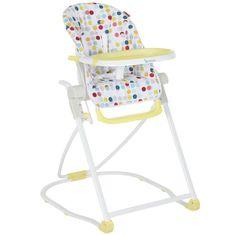 Badabulle krzesełko dla dziecka Compact Chair, Yellow