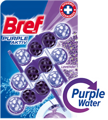 Bref Purple Aktiv Lavender 3 x 50 g