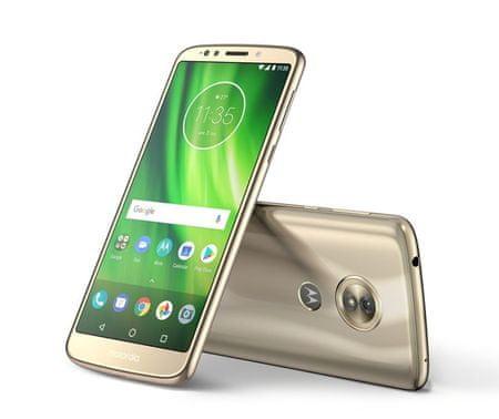 MOTOROLA Moto G6 Play, Fine Gold (PA9W0031RO) Fényképezőgép