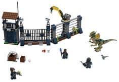 LEGO JurassicWorld 75931 Útok Dilophosaura na hlídku