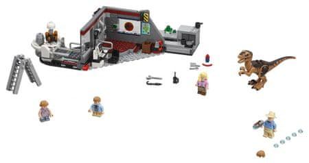 LEGO JurassicWorld 75932 Pościg raptorów