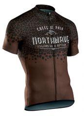 Northwave moški kolesarski dres Caffealvolo Jrs S/S