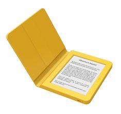 Bookeen e-bralnik Saga + silikonski ovitek, rumen