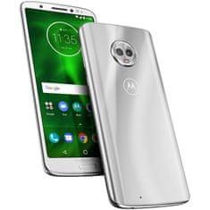Motorola Moto G6, Silver (PAAL0001RO)