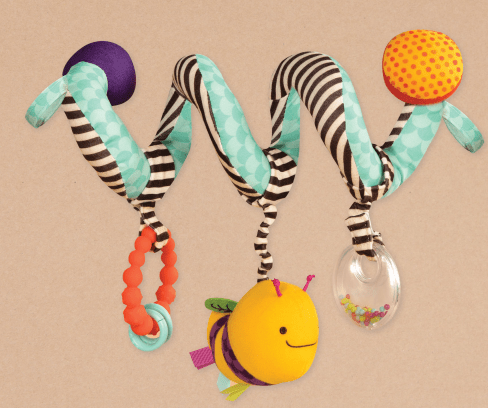 B.toys Spirála na kočárek Wiggle Wrap