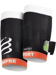 Compressport kompresijski rokav za stegenske mišice, črn - Odprta embalaža