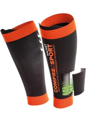 Compressport kompresijski rokav za meča, črn