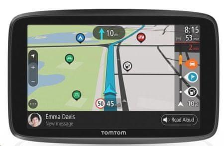 TomTom GO CAMPER WORLD (EMEA), Connected, Élethosszig tartó világtérkép