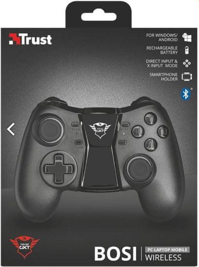 Trust Bluetooth igralni plošček Bosi GXT 590