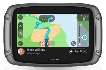 TomTom Rider 500, Europe LIFETIME mapy (45 krajín) s doživotnou aktualizáciou máp Európy
