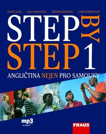 kolektiv autorů: Step by Step 1 - učebnice + mp3 ke stažení zdarma /3. vyd./