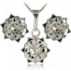 MHM Souprava šperků Daisy 34196 stříbro 925/1000
