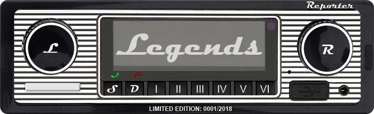 Reporter LEGENDS – limited edition