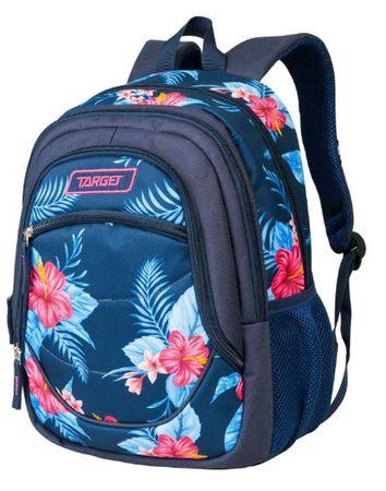 Target nahrbtnik Pick Blue Flowers 21900