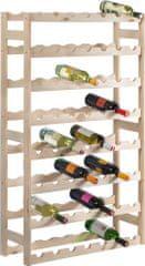 Westside Drevený regál na víno (56 fliaš)