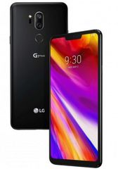 LG G7 ThinQ, New Aurora Black mobiltelefon