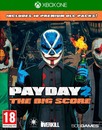 CD media igra Payday 2 The Big Score (Xbox One)