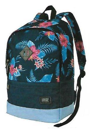 Target nahrbtnik Splash Floral Blue 21915