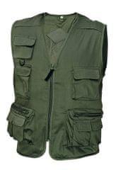 Cerva Letná pracovná vesta Corona pánska zelená XL