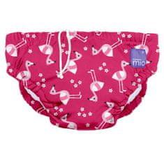Bambinomio strój kąpielowy dla niemowląt Pink Flamingo, S