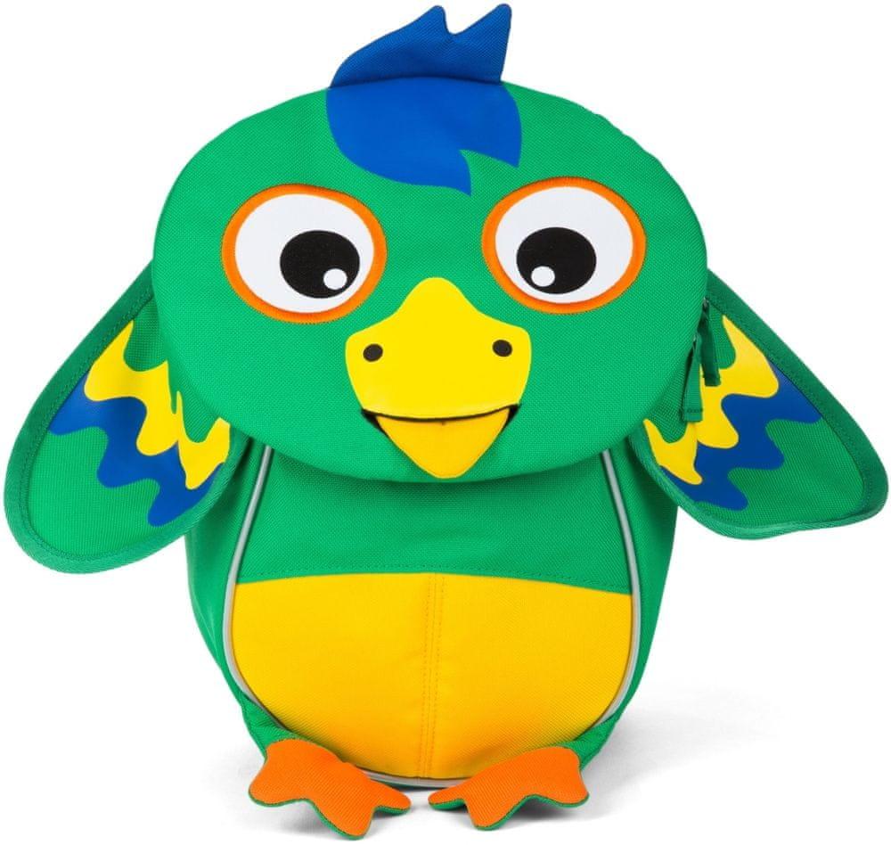 Affenzahn Papoušek Piet malý kamarád dětský batoh