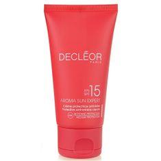 Decléor Opalovací krém na obličej SPF 15 Aroma Sun Expert (Protective Anti-Wrinkle Cream) 50 ml