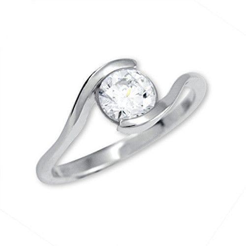 Brilio Silver Stříbrný zásnubní prsten 426 001 00422 04 - 1,98 g 54 mm