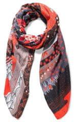 Desigual dámský červený šátek Explorer