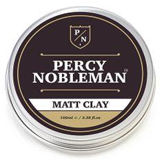 Percy Nobleman Matující vosk na vlasy s jílem (Matt Clay) 100 ml