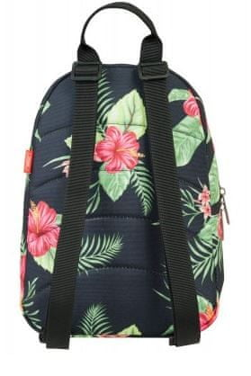 Target ruksak Tik Tak, Floral Black (21942)